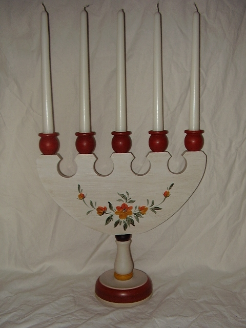 Candleholder for five candles 1167